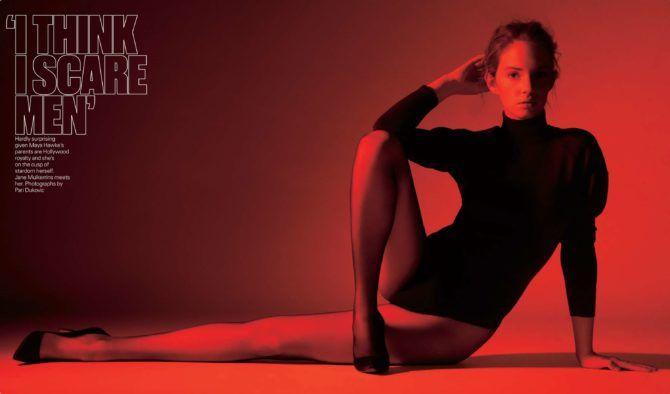 Майя Хоук фотография в чёрном боди