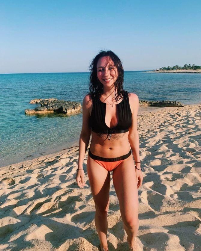 Елизавета Туктамышева фото нв пляже в инстаграм