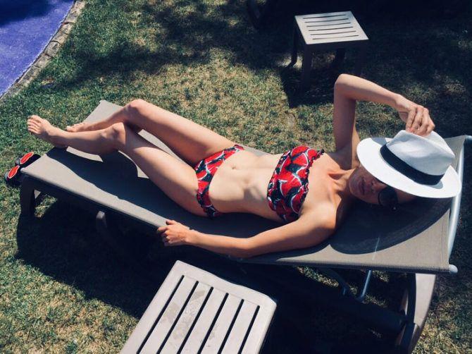 Дарья Храмцова фото в бикини в инстаграм