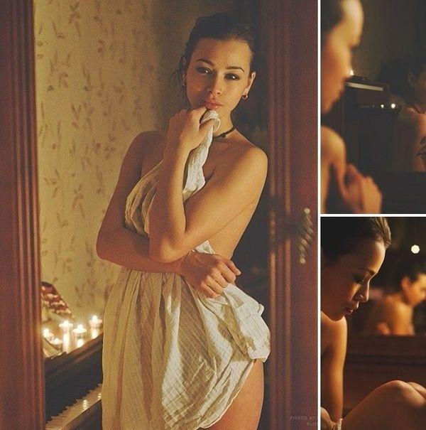 Дарья Храмцова откровенная фотосессия без одежды