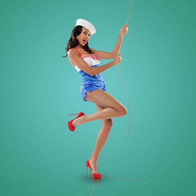 Дарья Храмцова фотография для календаря