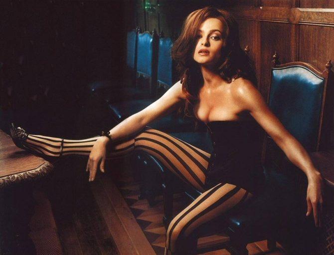 Хелена Бонем Картер фотография в максим 2001