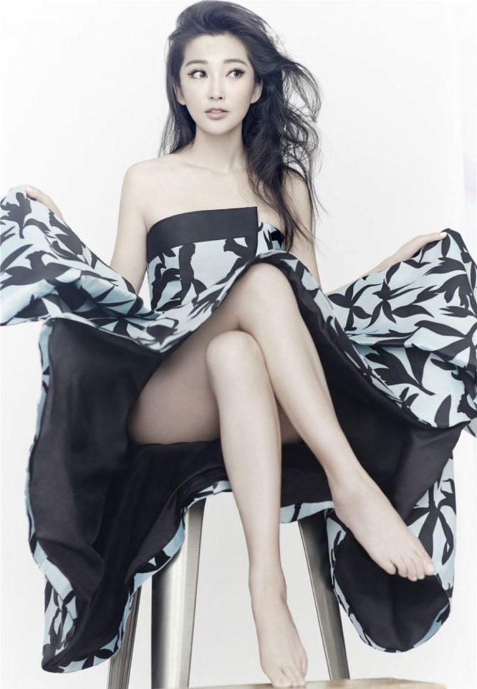 Ли Бинбин фото в красивом платье