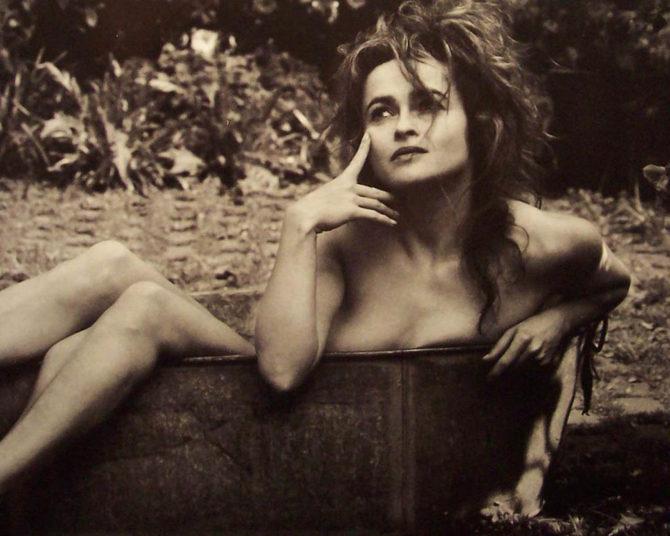 Хелена Бонем Картер откровенное фото в ванне