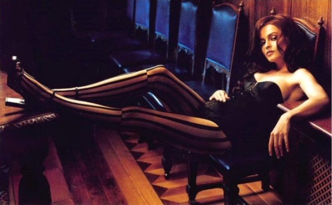 Хелена Бонем Картер фотосессия в журнале максим