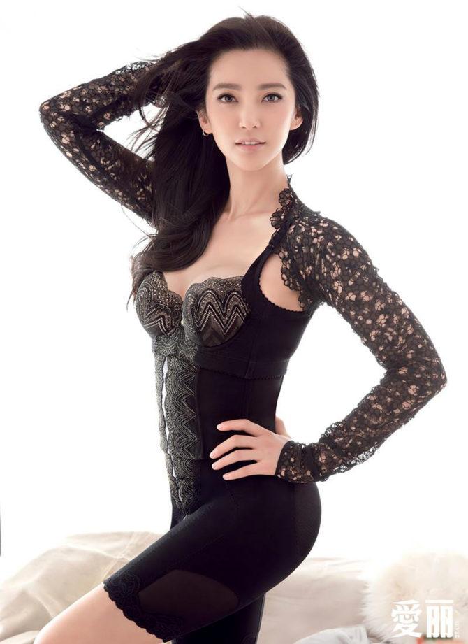 Ли Бинбин фотов красивом нижнем белье